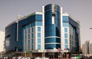 Holiday Inn DUBAI AL BARSHA frontage