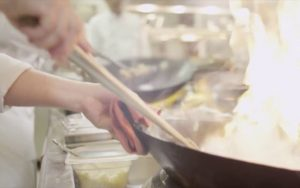Live Cooking Pai Thai Restaurant Dubai