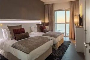 Twin Room Wyndham Hotel Dubai Marina