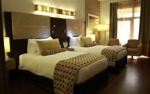 Twin room Grand Plaza Hotel Dubai