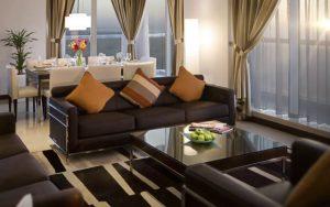 apartment room Four points Sheraton hotel Dubai