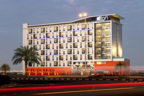 Aloft hotel South Dubai